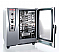 detaliu usa deschisa cuptor Combi Master Plus Rational