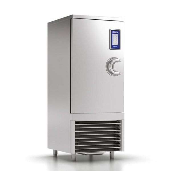 Blast chiller MultiFresh 13/18/27 tavi h65/40/20 GN1/1-600x400, agregat extern