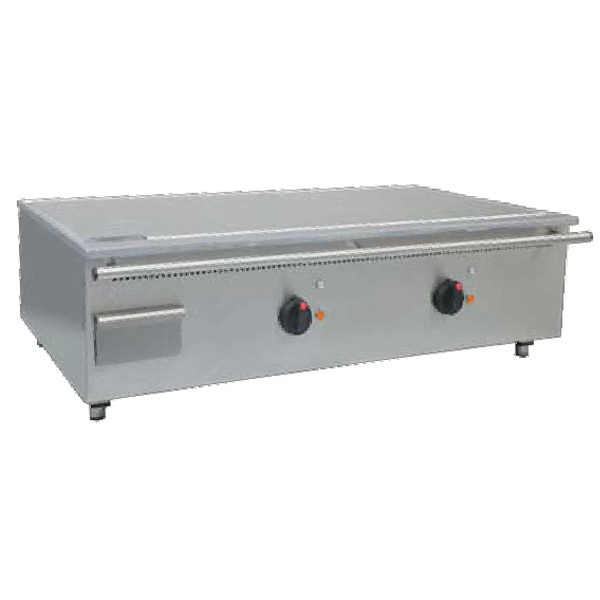 Grill asiatic teppanyaki rectangular - 2 zone de gatit