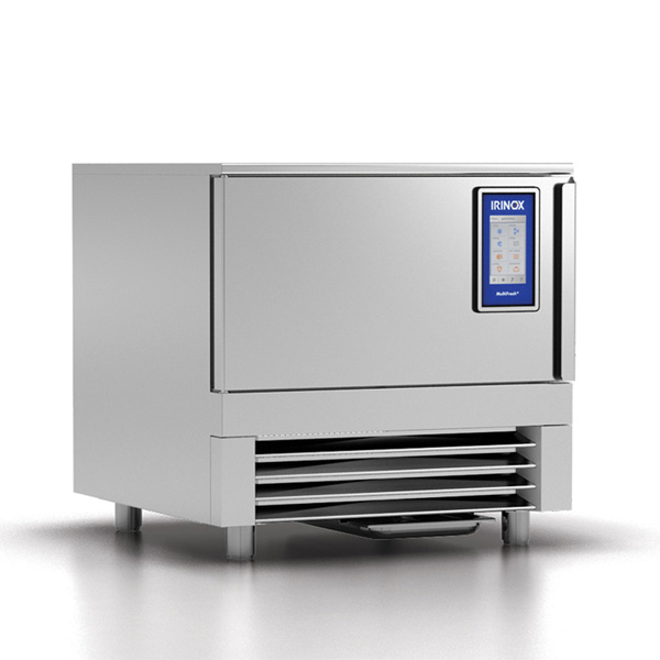 Blast chiller MultiFresh 4/5/8 tavi h65/40/20 GN2/1-600x400, agregat intern, condensare apa