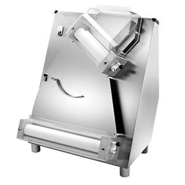 Formator blat pizza, role inclinate 420 mm