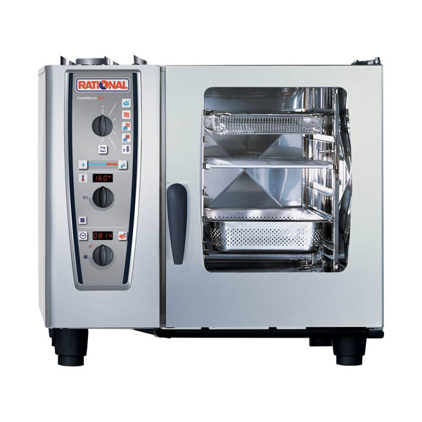 Cuptor Rational Combi Master Plus electric, 6 tavi GN 1/1, sens deschidere usa dreapta