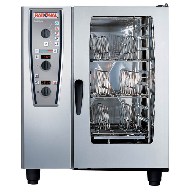 Cuptor Rational Combi Master Plus electric, 10 tavi GN 2/1