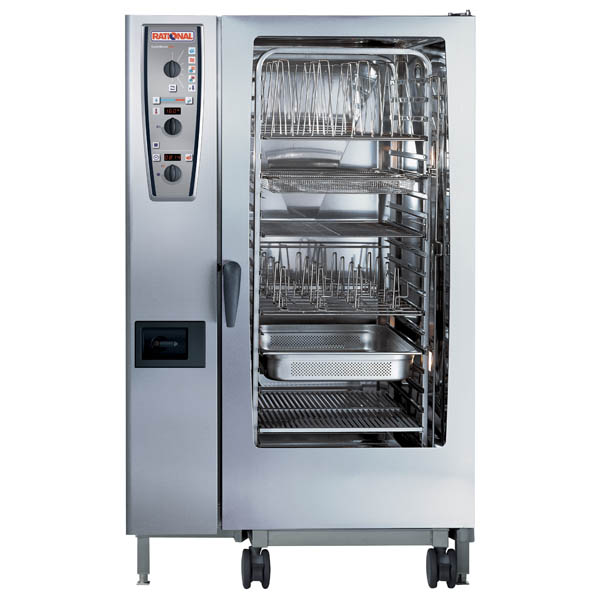 Cuptor Rational Combi Master Plus electric, 20 tavi GN 2/1