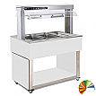 Modul servire tip bufet cald bain-marie 1169 mm, 3 GN 1/1, RAL special, linia Red